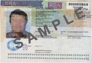 """Brazilian Visa"""
