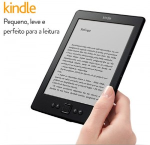 Kindle for sale in Brazil at R$299