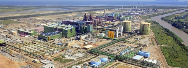 The plant in Sepetiba Bay, Brazil: It should produce more cheaply than Germany - it produced more expensive