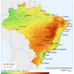 Direct Normal Irradiation (DNI) Brazil